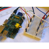 Counting in Binary on the Raspberry Pi